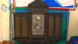Whitley First School memorial