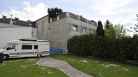 Josef Fritzl's house where he held his daughter captive for 24 years