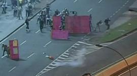 Clashes in Rio de Janeiro