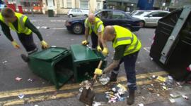 Clearing Brighton's streets