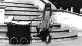 Girl in The Level park