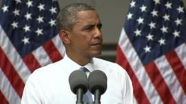 Barack Obama at Georgetown University