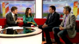 Film writer Adam Hamdy and critic Jason Solomons talk with BBC Breakfast's Susanna Reid and Charlie Stayt