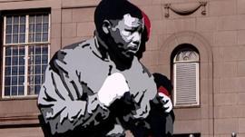 Mural of Nelson Mandela