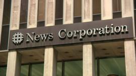 News Corp sign