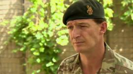 Task Force Helmand commander Brigadier Rupert Jones