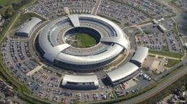 Aerial view of GCHQ