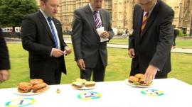 MPs in burger test