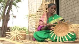 Woman in rural India