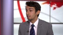 Middle East analyst Sakhr al-Makhadhi