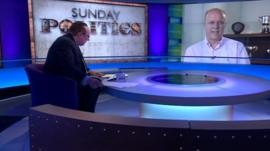 Andrew Neil and Chris Grayling