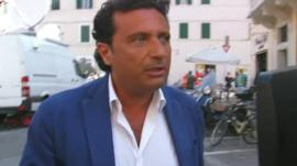 Captain Schettino leaves court
