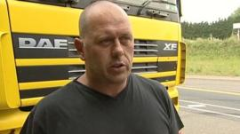 Lorry driver in Essex