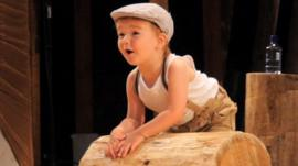 Arthur the child circus performer