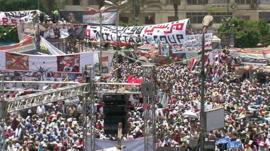 Pro-Morsi rally in Cairo