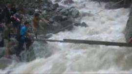 Rescue operation in China