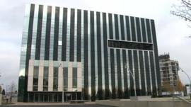 Corby Cube building