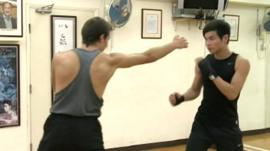 Men practicing Jeet Kune Do