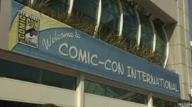Comic-Con sign