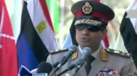General Abdel Fattah al-Sisi,