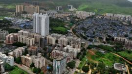 Tower blocks in Mumbai