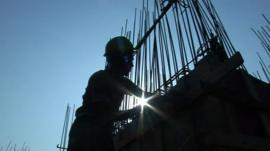 Construction worker in Mumbai