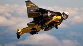 Yves Rossi the Jetman