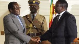 Robert Mugabe and Morgan Tsvangirai will be standing in the elections