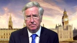 Energy Minister Michael Fallon