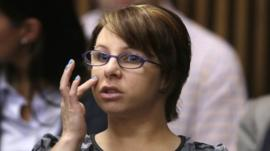 Michelle Knight in court on Thursday
