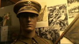 WW1 exhibition in Brecon