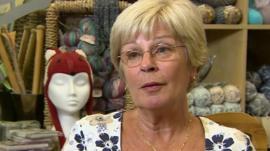 Pensioner Rita Bailey