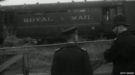 The London Royal Mail train was robbed by the gang 50 years ago