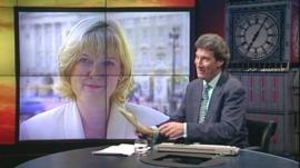 Martha Kearney and Jeremy Paxman