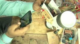 Robot maker in India