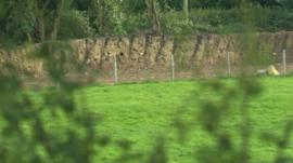 New excavation work on Offa's Dyke