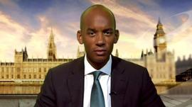 Labour MP and Shadow Business Secretary, Chuka Umunna