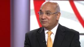 Chairman of the Home Affairs Select Committee, Keith Vaz
