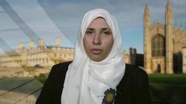 A spokesperson for the Muslim Brotherhood in the UK, Mona Al-Qazzaz