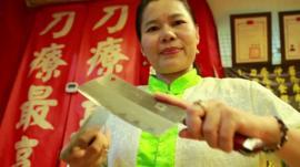 Knife massage