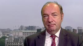 Transport Minister Norman Baker