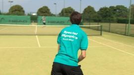 Tennis player Tom Mellor