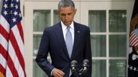 US President Barack Obama (31 August)