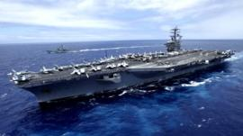 File photo of USS Nimitz