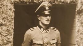 Rochus Misch in a 1944 photo