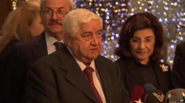 Walid Muallem, Syrian Foreign Minister