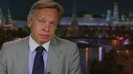 Chairman of the Duma Foreign Affairs Committee Alexei Pushkov