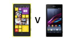Nokia Lumia and Sony Xperia smartphones