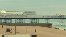 Brighton scene