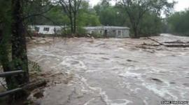 Footage from Lyons taken by Diane Dandeneau